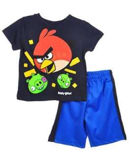 Angry Birds Red Menace 2 Piece Outfit (Sizes 4   7