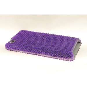 Apple iPod Touch 4 Diamond Hard Case Cover for Purple