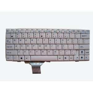 LotFancy New White keyboard for ASUS EEE PC EEEPC 1000 1000H Laptop