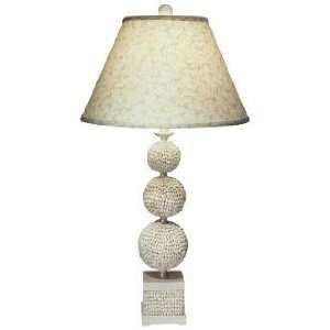 Poodle Shell Table Lamp by The Natural Light Home