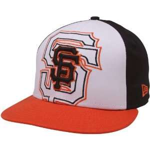 New Era San Francisco Giants Orange White Black Little Big