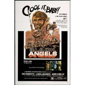 Black Angels, The 1970 Original U.S. One Sheet Poster