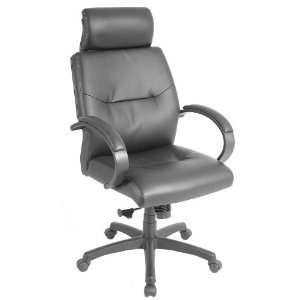 Maxx Black Leather Executive Chair Black Leather