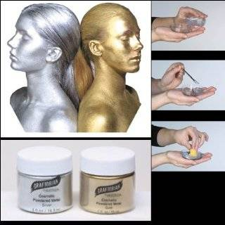 Ammonia Free Liquid Latex Body Paint   32oz Metallic Gold: Beauty