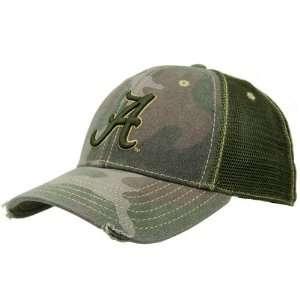 Alabama Crimson Tide Camo Mesh Deliverance Hat