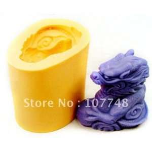 gift flexible silicone mold/mould for soap candle candy jelly cake