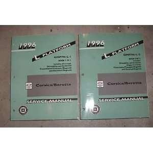 1996 Chevrole Chevy Corsica Berea Service Manual Se (2