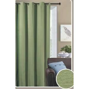 : Hillside Sage Grommet Window Curtain Panel 58x84 Home & Kitchen