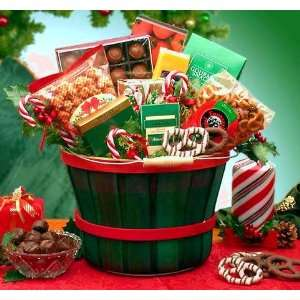 Holiday Traditions Basket of Christmas Sweets & Treats