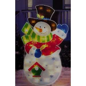 Snowman Christmas Yard Art Decoration #ES69 565 Patio, Lawn & Garden