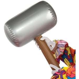 Lets Party By Rubies Costumes Inflatable Mallet / Gray