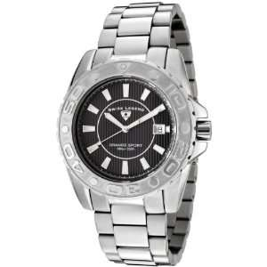 Swiss Legend Mens 9100 11 Grande Sport Stainless Steel Watch: Watches