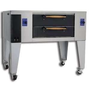 Pride D 250 DSP 65 Gas Double Deck Display Oven