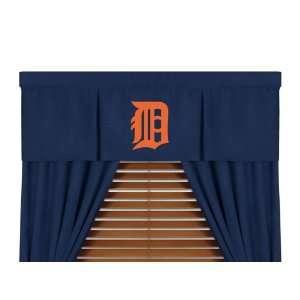 MLB Detroit Tigers MicroSuede Window Valance