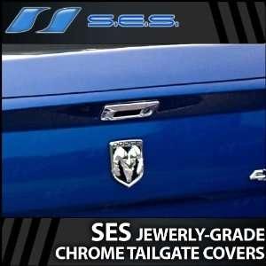 2009 2012 Dodge Ram SES Chrome Tailgate Handle Cover (w