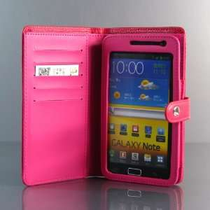 PU Leather Flip Case / Cover / Skin / Shell For Samsung Galaxy Note