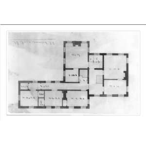 Print (M) [House, 33 Commercial Street. Floor plan]