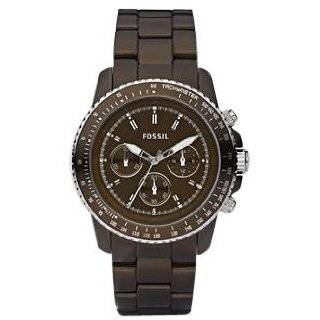 Fossil Sydney Stainless Steel Watch Brown Fossil Watches