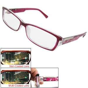 Como Lady Multi Coated Lens Sangria Full Frame Plano Glasses