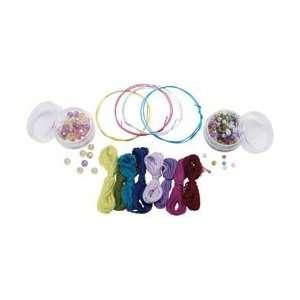 Style Me Up Twistable Friendship Bracelets Kit Makes 4; 3 Items/Order