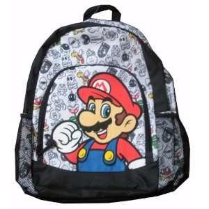 Super Mario with Nintendo Mario Designs 20 Backpack Toys & Games