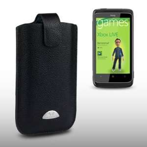 HTC 7 TROPHY TERRAPIN GENUINE LEATHER POCKET CASE BY