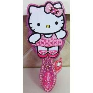Crystal Hello Kitty By Sanrio Hair Brush Ballarina