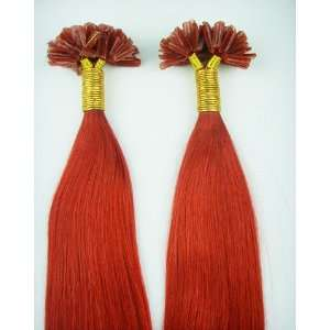 Tip Real Human Hair Extentions & Pink Hot Fusion Iron