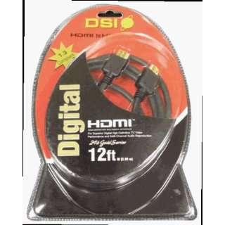 DSI HDMI12 12 Foot High Quality High Performance HDMI