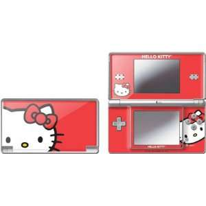 Skinit Hello Kitty Cropped Face Red Vinyl Skin for Nintendo