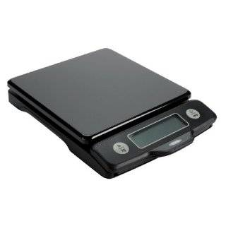 OXO Good Grips 5 Pound Black Food Scale with Pull Out Display