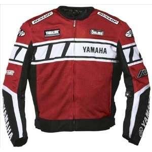 Joe Rocket Yamaha Champion Mesh Jacket (LARGE) (BLACK/RED