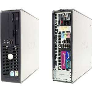 Dell Optiplex Computer with LCD Flat Panel Monitor (Single Core 2.8Ghz