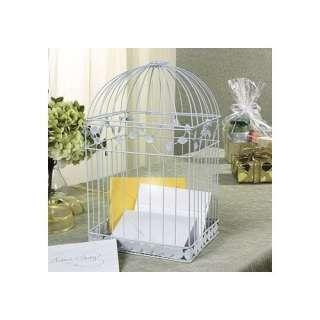 White Birdcage Wedding Gift Card Holder Wishing Well Home