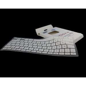 White Silicone Keyboard Cover for MacBook/MacBook Pro