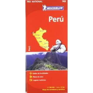 Perú. Mapa National 763 (9782067173446) AA.VV. Books