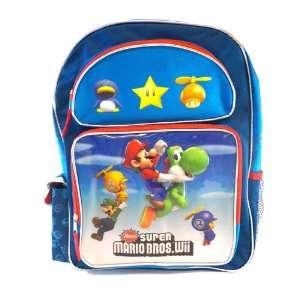 Nintendo Super Mario Backpack  Kidz size Mario Wii School