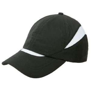 Athletic Casual SportsMesh Ball Cap Black & White