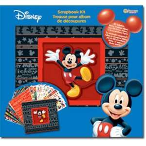 Disney Mickey Mouse Boxed Scrapbook Kit Arts, Crafts