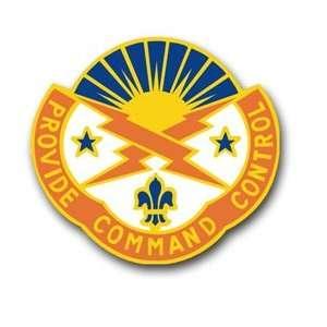 United States Army 187th Signal Brigade New York Unit Crest Patch