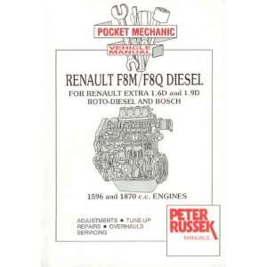Renault 1.6 and 1.9 Litre Diesel Engine Manual for Renault