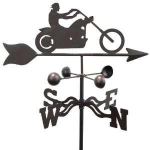 Chopper Motorcycle Weathervane