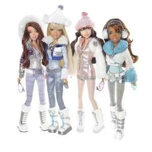 My Scene Icy Bling Dolls Set of 4 (Chelsea, Delancey