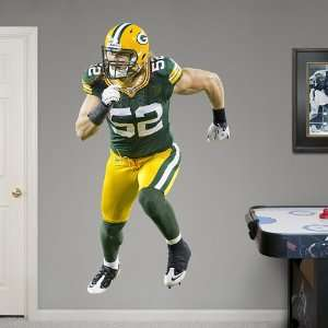 NFL Clay Matthews Vinyl Wall Graphic Decal Sticker Poster
