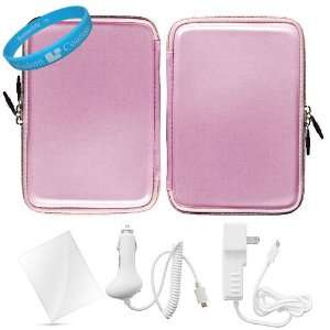 Candy Hard Cube Nylon Carrying Case for  New Nook Touch