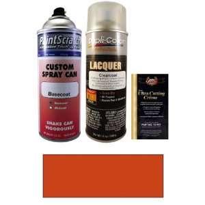 12.5 Oz. Dynamic Orange Metallic Spray Can Paint Kit for