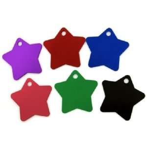 Engraved Pet Id Tags Dog Cat Collar Name Id Star
