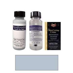 Oz. Platinum Blue Metallic Paint Bottle Kit for 1986 Saab All Models