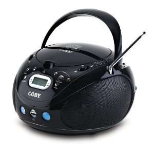 Coby MPCD471 Portable MP3/CD Player with AM/FM Radio and