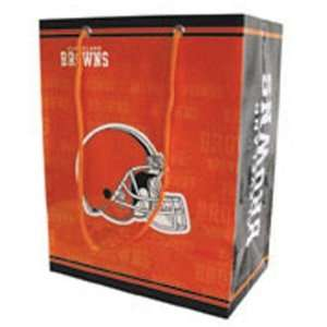 Cleveland Browns NFL Large Gift Bag (15.5 Tall) Sports